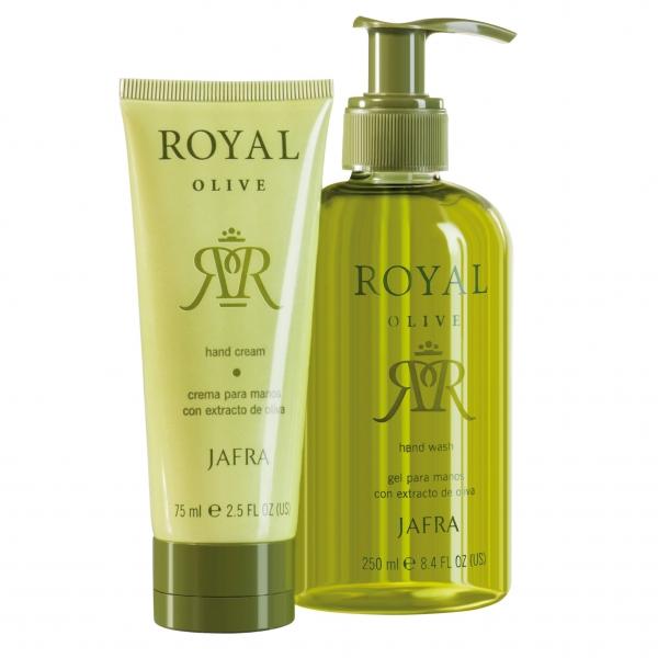 Royal Olive Hand-Set