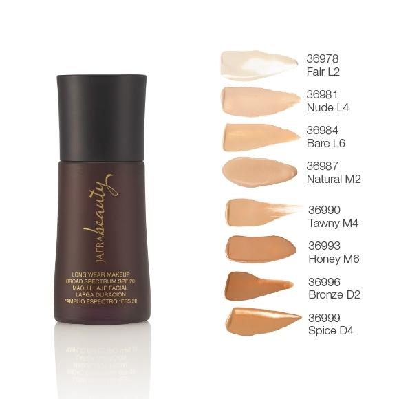Langanhaltendes Make-up SPF 20 mit Farben