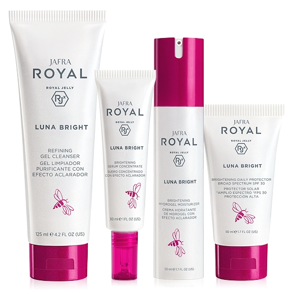 JAFRA ROYAL Luna Bright Deluxe Set