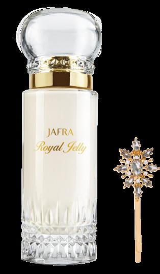Jafra Royal Jelly Feuchtigkeitsbalsam Glasflakon